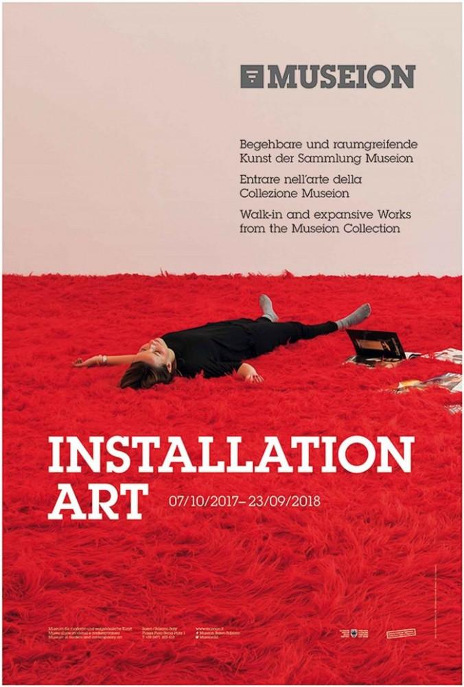 Aktion INSTALLATION ART rund um Museion - Museum für moderne und zeitgenössische Kunst