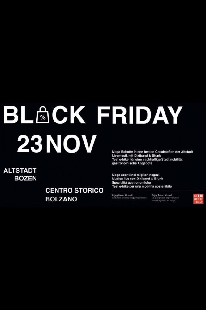 Offerte Black Friday a BZ di :name
